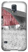 The Red Barn - Sketch 0004 Galaxy S5 Case by Ericamaxine Price