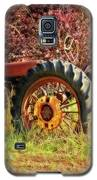 Vintage Maroon And Red Galaxy S5 Case by Amanda Smith