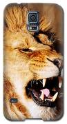 Yawning Lion Galaxy S5 Case by Nick Biemans