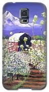 Apple Blossom Time Galaxy S5 Case by David Lloyd Glover