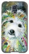 Bichon Frise Galaxy S5 Case by Patricia Lintner