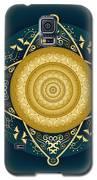 Circumplexical No 4067 Galaxy S5 Case by Alan Bennington