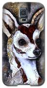Day Of The Dead Chihuahua Galaxy S5 Case by Patricia Lintner