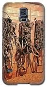 Harnesses Galaxy S5 Case by Amanda Smith
