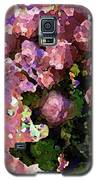 Pink Floral Fiesta Galaxy S5 Case by Corinne Carroll