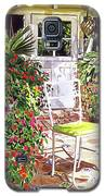 The Yellow Patio Chair Galaxy S5 Case by David Lloyd Glover