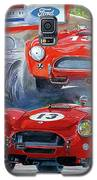 Tom Payne's No 13  289 Cobra Competition Galaxy S5 Case by David Lloyd Glover