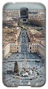 View Of Rome From St. Peter's Basilica Dome Galaxy S5 Case by Jacqui Boonstra