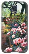 Walking By The Roses Galaxy S5 Case by David Lloyd Glover
