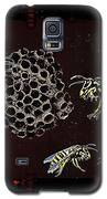 Wasps Galaxy S5 Case by Hartmut Jager