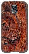 Wood Knot Galaxy S5 Case by ISAW Company