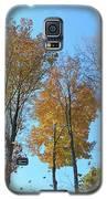 Yellowish Autumn Trees Galaxy S5 Case by Rockin Docks