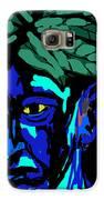 Blue Man Galaxy S6 Case by Moshfegh Rakhsha