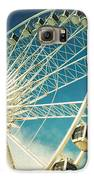 Ferris Wheel Retro Galaxy S6 Case