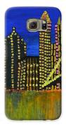 Manhattan Skyline Galaxy S6 Case by Shruti Prasad