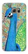 Peacock Galaxy S6 Case by Carol Hamby