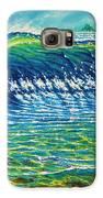 Dolphin Surf Galaxy S6 Case by Joseph   Ruff