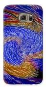 Most Wanted Art Award Oil Painting Original Abstract Modern Contemporary House Office Wall Deco  Galaxy S6 Case by Emma Lambert