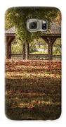 A Walk In The Park Galaxy S6 Case by Cindy Rubin