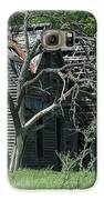 Abandoned Country Kansas Farm House Galaxy S6 Case by Robert D  Brozek