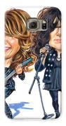 Ann And Nancy Wilson Of Heart Galaxy S6 Case by Art