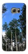 Backroad Aspens Galaxy S6 Case by Carrie Putz