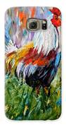 Barnyard Rooster Galaxy S6 Case by Barbara Pirkle
