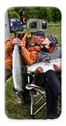 Besame Mucho . Salmon Love Story. Galaxy S6 Case by  Andrzej Goszcz