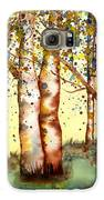 Birch Trees Galaxy S6 Case by Diane Ferron