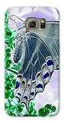 Black Swallowtail Abstract  Galaxy S6 Case by Kim Galluzzo Wozniak