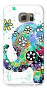 Blooming Elephants Galaxy S6 Case by Karin Taylor