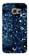 Blue Bubbly Galaxy S6 Case