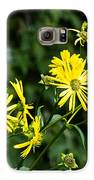 Bold Yellow Flowers Galaxy S6 Case by Jason Brow