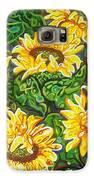 Bountiful Sunflowers Galaxy S6 Case by Deborah Glasgow