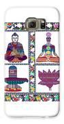 Buddha Yoga Chakra Lotus Shivalinga Meditation Navin Joshi Rights Managed Images Graphic Design Is A Galaxy S6 Case by Navin Joshi