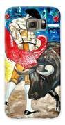 Bull Fighter Galaxy S6 Case by Andrea Vazquez-Davidson