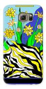Bumble Bee Vase Galaxy S6 Case by Lewanda Laboy