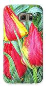 Burst Of Color Galaxy S6 Case by Cathie Tyler