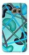 Butterbean In Green Galaxy S6 Case by Anthony Morris
