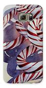 Candy Cane Christmas Galaxy S6 Case by Bobbi Price