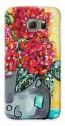 Carolyn's Roses Galaxy S6 Case