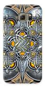 Celtic Hearts - Gold And Silver Galaxy S6 Case by Richard Barnes