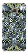 Celtic Hearts - Green And Silver Galaxy S6 Case