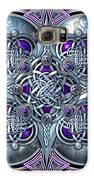 Celtic Hearts - Purple And Silver Galaxy S6 Case