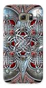 Celtic Hearts - Red Galaxy S6 Case by Ricky Barnes