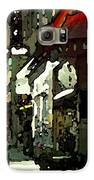 City At Night Galaxy S6 Case by Cole Black