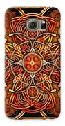 Copper And Gold Celtic Cross Galaxy S6 Case by Richard Barnes