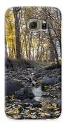 Cottonwood Creek Near Deer Lodge Montana Galaxy S6 Case