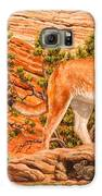 Cougar - Don't Move Galaxy S6 Case by Crista Forest