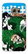 Doggy Daycare Galaxy S6 Case by LCS Art